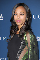 LOS ANGELES, CA - NOVEMBER 02: Zoe Saldana at  LACMA 2013 Art + Film Gala held at LACMA  in Los Angeles, California on November 2nd, 2012 in Los Angeles, CA., USA.<br /> CAP/DVS<br /> &copy;DVS/Capital Pictures