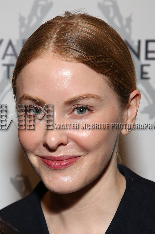 """Kate Robards attending the Opening Night Performance for The Vineyard Theatre production of  """"Do You Feel Anger?"""" at the Vineyard Theatre on April 2, 2019 in New York City."""