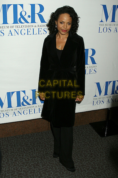 "GINA RAVERA .MT&R's 24th Annual William S. Paley Television Festival, ""The Closer"" at the Directors Guild, West Hollywood, California, USA..March 6th, 2007.full length black trousers coat  .CAP/ADM/BP.©Byron Purvis/AdMedia/Capital Pictures"