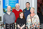 Paul O'Sullivan Rathmore, John Spillane Kilcummin, Martina Healy Kilcummin, Bill O'Sullivan Caherciveen and Claire Vinten KPFA at the Kerry Parents and Friends Association movie premiere in the Malton Hotel on Thursday