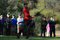 Sebastian Garcia Rodriguez (ESP) on the 5th tee during Round 3 of the Challenge Tour Grand Final 2019 at Club de Golf Alcanada, Port d'Alcúdia, Mallorca, Spain on Saturday 9th November 2019.<br /> Picture:  Thos Caffrey / Golffile<br /> <br /> All photo usage must carry mandatory copyright credit (© Golffile | Thos Caffrey)
