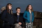 Members of We Will, an advocacy group established by young people to campaign for better youth mental health services in Cumbria, pictured in Maryport, where they meet regularly. Pictured are group members (left to right) Lucy Steel, 15, Billy Robinson, 18, and Jasmine Dean, 17, who all attend Cockermouth School.