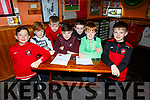 Members of the Tralee Dynamos juvenile team at their fundraising quiz in the Huddle Bar on Thursday night.<br /> Front l-r, Brandon Long, Conor Lucey, Samuel Barrero, Eoin O'Flaherty and Rory O'Halloran.<br /> Back l-r, Shane Stack and Pierce Lowth.