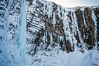 Malcolm Kent ice climbing, Iceland