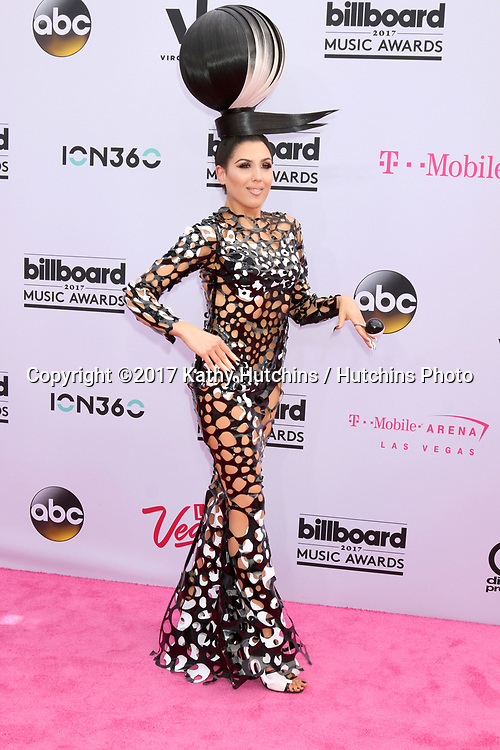 LAS VEGAS - MAY 21:  Z Lala at the 2017 Billboard Music Awards - Arrivals at the T-Mobile Arena on May 21, 2017 in Las Vegas, NV