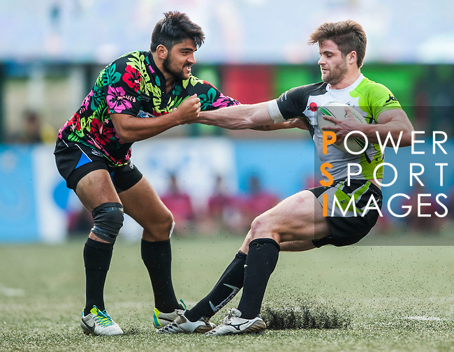 Tradition YCAC vs Samurai during day 2 of the 2014 GFI HKFC Tens at the Hong Kong Football Club on 27 March 2014. Photo by Juan Flor / Power Sport Images