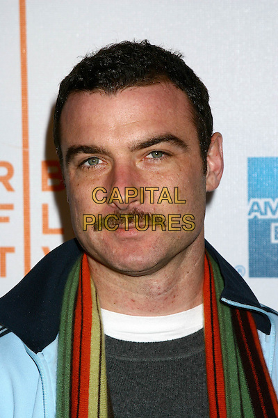 "LIEV SCHREIBER.4th Annual Tribeca Film Festival - ""Fierce People"" Premiere - Arrivals.Tribeca Performing Arts Center, New York City, USA, April 24th 2005..portrait headshot schrieber moustache facial hair.Ref: IW.www.capitalpictures.com.sales@capitalpictures.com.©Ian Wilson/Capital Pictures."