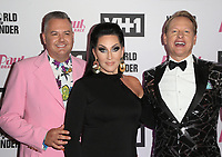 """13 May 2019 - Los Angeles, California - Ross Mathews, Michelle Visage, Carson Kressley. """"RuPaul's Drag Race"""" Season 11 Finale Taping held at The Orpheum Theatre. Photo Credit: Faye Sadou/AdMedia<br /> CAP/ADM/FS<br /> ©FS/ADM/Capital Pictures"""