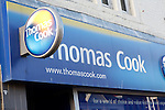 Thomas Cook travel agents shop. High street shops and shopping,  January 2009, Lowestoft, Suffolk, England