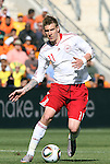 14 JUN 2010:  Nicklas Bendtner (DEN)(11).  The Netherlands National Team defeated the Denmark National Team 2-0 at Soccer City Stadium in Johannesburg, South Africa in a 2010 FIFA World Cup Group E match.