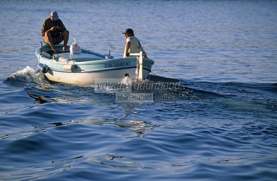 Europe/France/Corse/2B/Haute-Corse/Cap Corse/Bastia: Départ pour la pêche