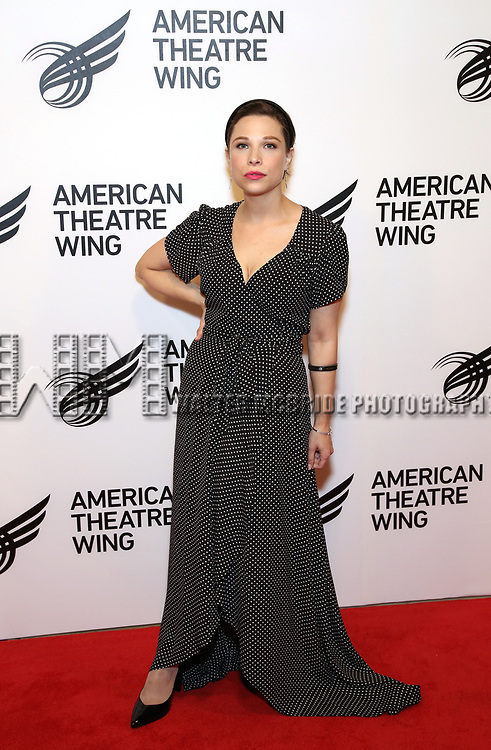 Lauren Marcus attends The American Theatre Wing's 2019 Gala at Cipriani 42nd Street on September 16, 2019 in New York City.