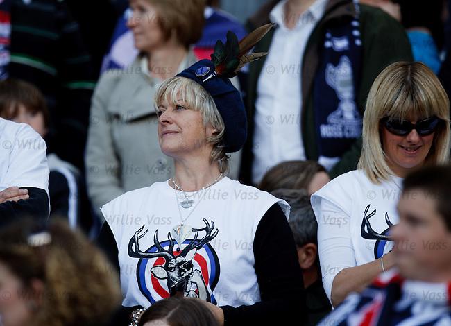 Ross County fans