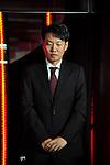 October 16, 2012, Tokyo, Japan - A president of Mercedes-Benz Kintaro Ueno poses on the catwalk during Mercedes-Benz Fashion Week Tokyo 2013 Spring/Summer. The Mercedes-Benz Fashion Week Tokyo runs from October 13-20. (Photo by Yumeto Yamazaki/AFLO)