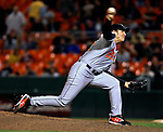 19 May 2007: Baltimore Orioles pitcher Chris Ray in action against the Washington Nationals at RFK Stadium in Washington, DC. The Orioles defeated the Nationals 3-2 in the second game of the 3-game interleague series...Mandatory Photo Credit: Ed Wolfstein Photo