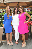 NEW YORK, NY - JULY 7: Siggy Flicker, Jacqueline Laurita and Dolores Catania  seen on July 7, 2016 in New York City. Credit: DC/Media Punch