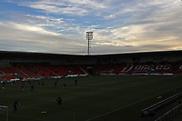 A general view of Keepmoat stadium, home of Doncaster Rovers FC ahead of the Sky Bet League 1 match between Doncaster Rovers and Oldham Athletic at the Keepmoat Stadium, Doncaster, England on 16 December 2017. Photo by Juel Miah / PRiME Media Images.