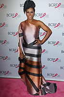 """June Ambrose attends The Breast Cancer Research Foundation """"Super Nova"""" Hot Pink Party on May 12, 2017 at the Park Avenue Armory in New York City."""