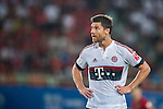 Xabi Alonso of Bayern Munich reacts during the Bayern Munich vs Guangzhou Evergrande as part of the Bayern Munich Asian Tour 2015  at the Tianhe Sport Centre on 23 July 2015 in Guangzhou, China. Photo by Aitor Alcalde / Power Sport Images