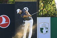 Martin Kaymer (GER) tees off the 8th tee during Saturday's Round 3 of the 2018 Turkish Airlines Open hosted by Regnum Carya Golf &amp; Spa Resort, Antalya, Turkey. 3rd November 2018.<br /> Picture: Eoin Clarke | Golffile<br /> <br /> <br /> All photos usage must carry mandatory copyright credit (&copy; Golffile | Eoin Clarke)