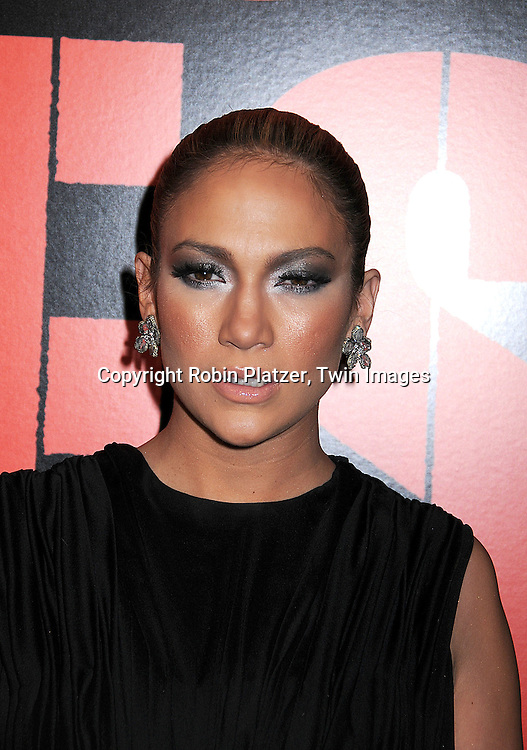 """Jennifer Lopez .posing for photographers at The """"Shine A Light"""" movie premiere on March 30, 2008 atThe Ziegfeld Theatre. .Martin Scorsese directed the movie. .Robin Platzer, Twin Images"""