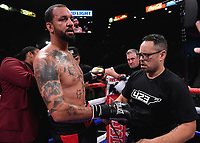 LAS VEGAS - NOVEMBER 23: Dustin Long on the Fox Sports PBC Fight Night at the MGM Grand Garden Arena on November 23, 2019 in Las Vegas, Nevada. (Photo by Frank Micelotta/Fox Sports/PictureGroup)