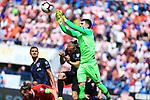 08.06.2019., stadium Gradski vrt, Osijek - UEFA Euro 2020 Qualifying, Group E, Croatia vs. Wales. Dejan Lovren, Domagoj Vida, Dominik Livakovic. <br /> <br /> Foto © nordphoto / Davor Javorovic/PIXSELL