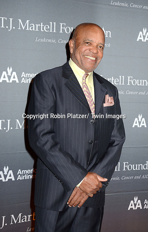Berry Gordy attends The 37th Annual TJ Martell Foundation Honors Gala on October 23, 2012 at Cipriani 42nd Street in New York City. The foundation is for Leukemia, Cancer and AIDS Reserarch.