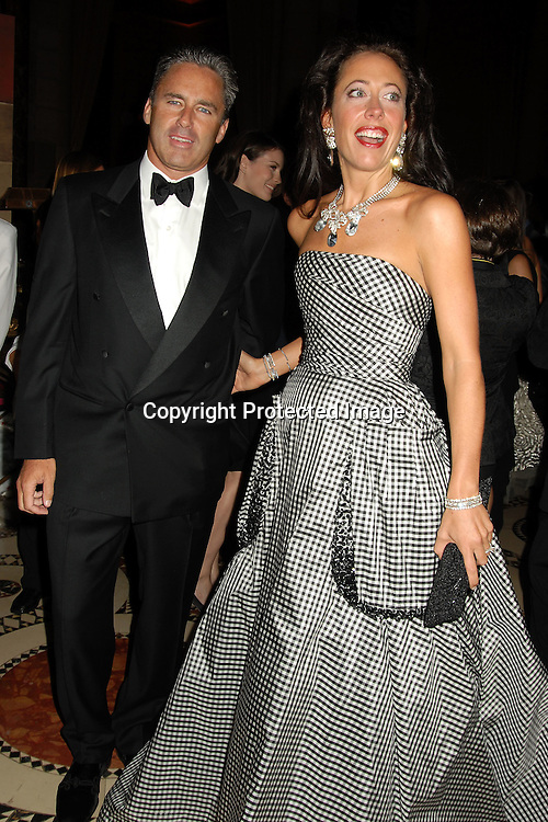 Campion Platt and wife Tatiana ..at The 7th Annual New Yorkers for Children Fall Gala ..on September 21, 2006 at Cipriani 42nd Street. ..Robin Platzer, Twin Images