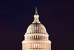 Washington DC; USA: The dome of the Capitol Building, legislative branch of the US government.Photo copyright Lee Foster Photo # 3-washdc82937