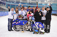 MOTORSPORT: HEERENVEEN: 02-04-2017, IJsstadion Thialf, WK IJsspeedway, World Champion Dmitri Kolkatov (RUS), ©foto Martin de Jong
