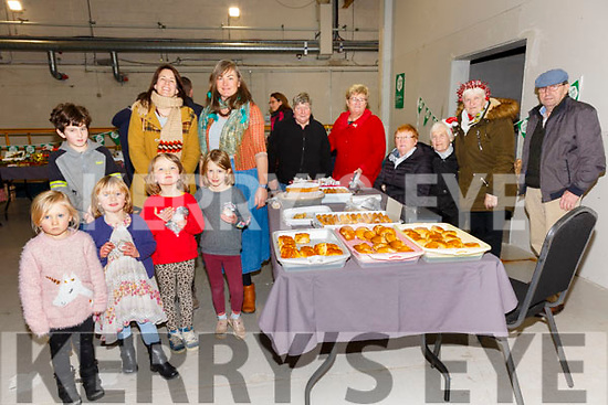 Pictured at the indoor Aonach Bia with local food producers from the Skellig Coast Region as part of a National taste the Island Campaign held at the SkelligSix18 Distillery, Cahersiveen on Sunday were front l-r; Norah Fitzgerald, Abhie Cullen, Ethel Fitzgerald, Indi O'Connell, back l-r; Noah O'Connell, Alexis O'Connell, Kerryann Fitzgerald, Sheila Fitzgerald, Mary Landers, Breda Keating, Eileen Cournane, Betty Maguire & Owen Landers.