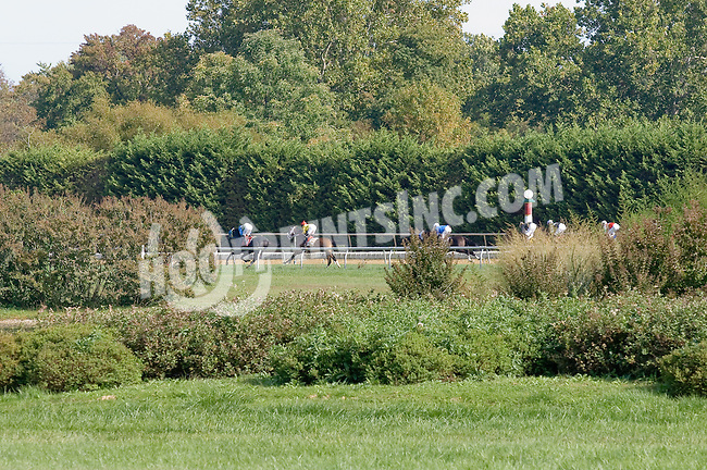 Strategic Defense winning at Delaware Park on 10/1/12
