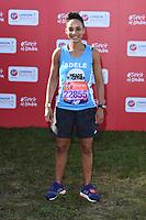 Adele Roberts<br /> at the start of the 2018 London Marathon, Greenwich, London<br /> <br /> ©Ash Knotek  D3397  22/04/2018