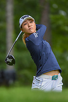 Lydia Ko (NZL) watches her tee shot on 14 during round 2 of the U.S. Women's Open Championship, Shoal Creek Country Club, at Birmingham, Alabama, USA. 6/1/2018.<br /> Picture: Golffile | Ken Murray<br /> <br /> All photo usage must carry mandatory copyright credit (&copy; Golffile | Ken Murray)