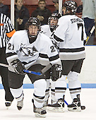 Jon Rheault, Tony Zancanaro, Dinos Stamoulis - The Boston College Eagles defeated the Providence College Friars 4-1 on Saturday, January 7, 2006, at Schneider Arena in Providence, Rhode Island.