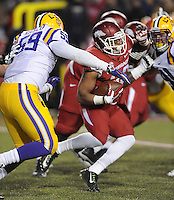 NWA Media/ANDY SHUPE - Arkansas vs. LSU Saturday, Nov. 15, 2014, at Razorback Stadium in Fayetteville.