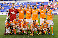 Houston Dynamo starting eleven. The New York Red Bulls defeated the Houston Dynamo 2-1 during a Major League Soccer (MLS) match at Red Bull Arena in Harrison, NJ, on June 2, 2010.