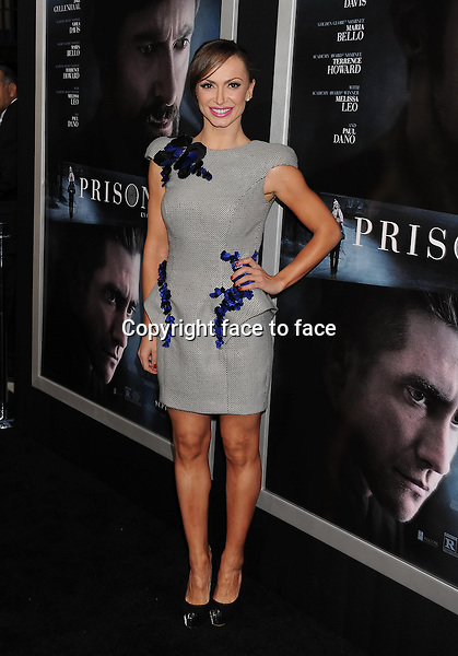 BEVERLY HILLS, CA- SEPTEMBER 12: TV personality Karina Smirnoff arrives at the 'Prisoners' - Los Angeles Premiere at the Academy of Motion Picture Arts and Sciences on September 12, 2013 in Beverly Hills, California.<br /> Credit: Mayer/face to face<br /> - No Rights for USA, Canada and France -
