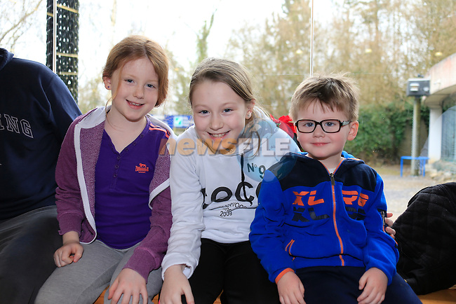 Julia, April and Darragh Browne at the Annual Ceili and Set Dancing session in Bru Na Boinne.<br /> Picture www.newsfile.ie