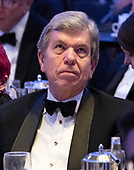 United States Senator Roy Blunt (Republican of Missouri) watches a screen as he attends the 2019 White House Correspondents Association Annual Dinner at the Washington Hilton Hotel on Saturday, April 27, 2019.<br /> Credit: Ron Sachs / CNP<br /> <br /> (RESTRICTION: NO New York or New Jersey Newspapers or newspapers within a 75 mile radius of New York City)