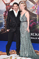 "Johnny Depp and Mia Wasikowska<br /> at the premiere of ""Alice Through the Looking Glass"" held at the Odeon Leicester Square, London<br /> <br /> <br /> ©Ash Knotek  D3117  10/05/2016"