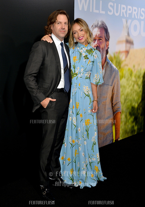 "LOS ANGELES, CA. September 13, 2018: Jason Sudeikis & Olivia Wilde at the premiere for ""Life Itself"" at the Cinerama Dome.<br /> Picture: Paul Smith/Featureflash"
