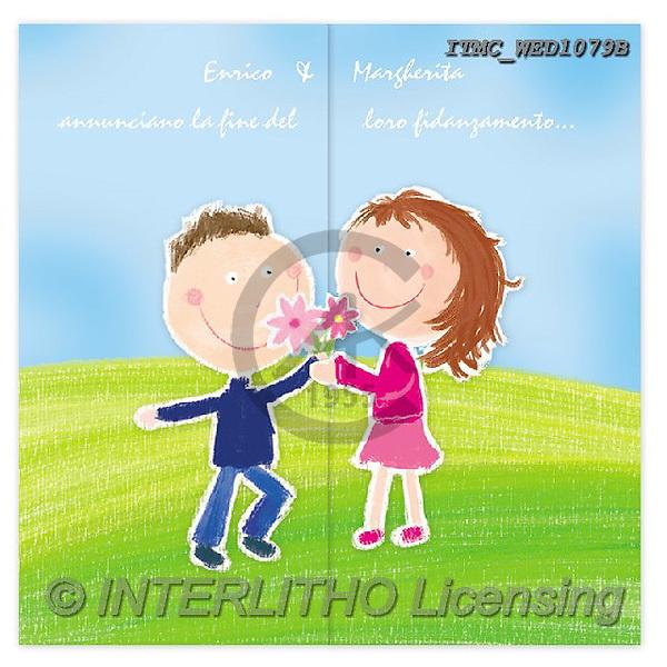 Marcello, WEDDING, HOCHZEIT, BODA, paintings+++++,ITMCWED1079B,#W#, EVERYDAY