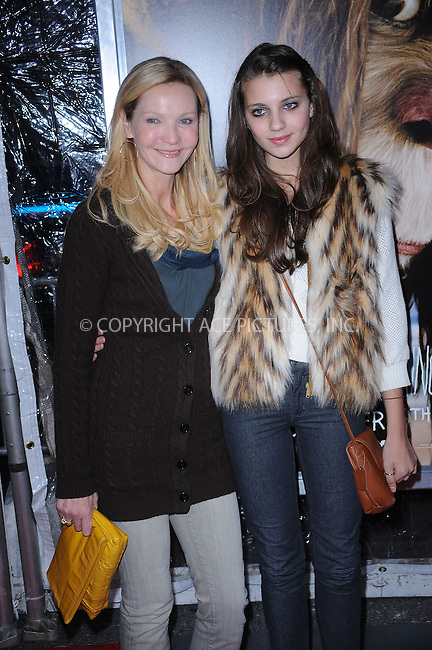 WWW.ACEPIXS.COM . . . . . ....October 13 2009, New York City....Actress Joan Allen and daughter arriving at the 'Where The Wild Things Are' premiere at Alice Tully Hall on October 13, 2009 in New York City.....Please byline: KRISTIN CALLAHAN - ACEPIXS.COM.. . . . . . ..Ace Pictures, Inc:  ..(212) 243-8787 or (646) 679 0430..e-mail: picturedesk@acepixs.com..web: http://www.acepixs.com