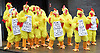 Conservative Party Spring Forum <br /> at The Old Granada Studios, Manchester, Great Britain <br /> 28th March 2015 <br /> <br /> People dressed as Chickens outside the venue <br /> <br /> <br /> Photograph by Elliott Franks <br /> Image licensed to Elliott Franks Photography Services