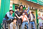Cahersiveen got a taste of the 'old west' again this year with The Kid and his gang as the shot up the town with gunfights and bar brawls but always under the watchful eyes of the Marshall and his Deputy.