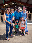 Yousef and Drake family at the Friday at the 80th Amador County Fair, Plymouth, Calif..<br /> .<br /> .<br /> .<br /> #AmadorCountyFair, #1SmallCountyFair, #PlymouthCalifornia, #TourAmador, #VisitAmador