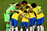 KAZAN - RUSIA, 06-07-2018: Brasil y Bélgica en partido de cuartos de final por la Copa Mundial de la FIFA Rusia 2018 jugado en el estadio Kazan Arena en Kazán, Rusia. / Brazil and Belgium match of quarter final for the FIFA World Cup Russia 2018 played at Kazan Arena stadium in Kazan, Russia. Photo: VizzorImage / Julian Medina / Cont