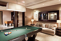 Fooseball And Billiard Table